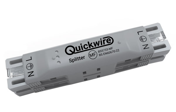 Quickwire Splitter maintenance free junction box